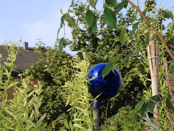 glaskugeln - gartenkugeln aus glas - rosenkugeln, Garten und bauen