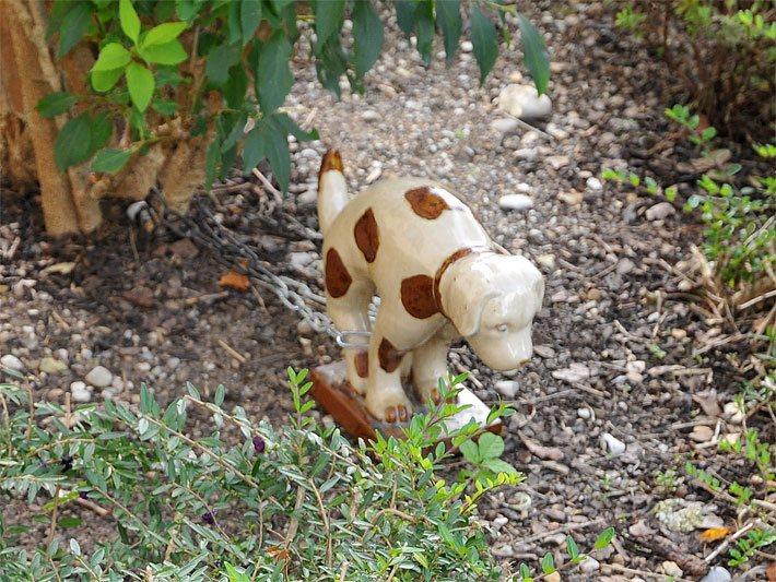 Tiere als gartenfiguren deko k he und porzellan v gel - Gartenfiguren aus holz ...