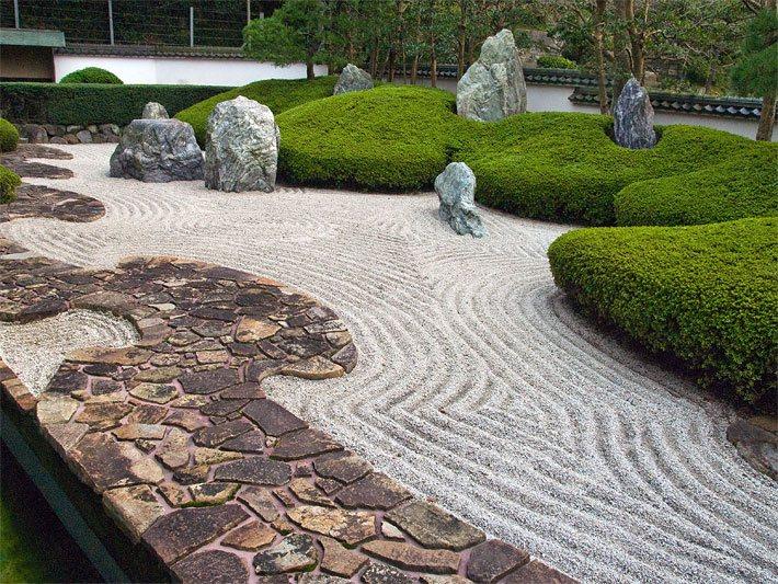 Gartenkunst k nstlerische gartengestaltung - Zen garten bedeutung ...